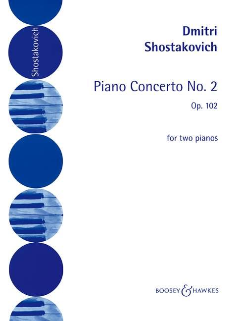 Piano concerto no.2 op.102 image